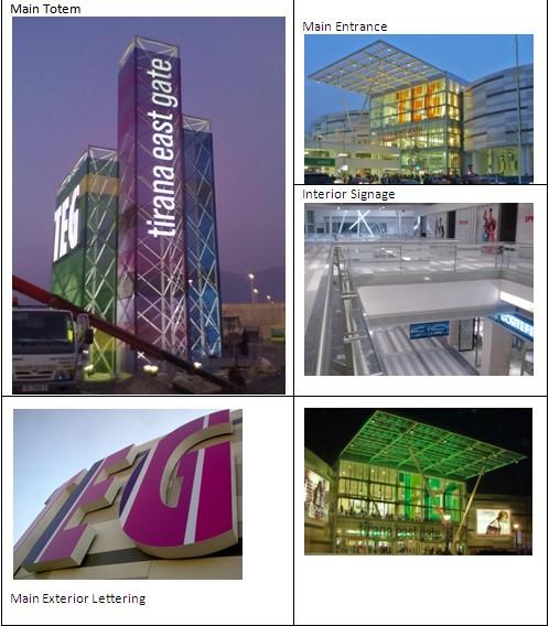 Centro Comercial TEG - Tirana East Gate